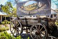 Iconic Hahndorf wood cart wagon Royalty Free Stock Photo