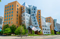 Iconic postmodern architecture of mit strata center cambridge usa Royalty Free Stock Photography