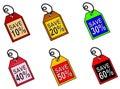 Iconos del Web que salvan etiquetas del dinero Imagen de archivo libre de regalías
