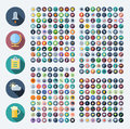 Icons for business, technology, industrial, food and drinks