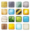 Icons And Buttons Set For Mobile App And Game Ui Royalty Free Stock Photo