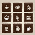 Icons of drinks Royalty Free Stock Images