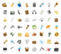 Icons for personal belongings Stock Photo
