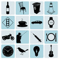 Icons set vector this image is a illustration and can be scaled to any size without loss of resolution Royalty Free Stock Photography