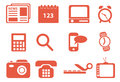 Icons set for you design Stock Images
