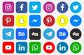 Icons and Social Media Logos