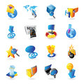 Icons for technology Royalty Free Stock Photos