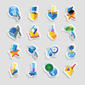 Icons for technology and interface Royalty Free Stock Photos