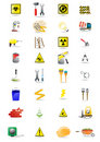 Icons of tools Royalty Free Stock Photo