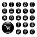 Icons for web sites Royalty Free Stock Images