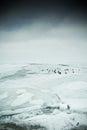 Icy lake Stock Image