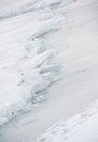 Icy lake Royalty Free Stock Photo