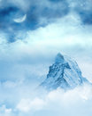 Icy rock background fantasy for your artistic creations and or projects Royalty Free Stock Photography