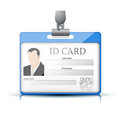 Id card vector illustration background Royalty Free Stock Photography