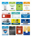 ID Cards Royalty Free Stock Photos