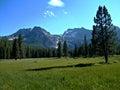 Idaho Sawtooth Mountains Royalty Free Stock Photo