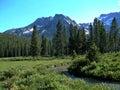 Idaho Sawtooth Mountains XVII Royalty Free Stock Photo