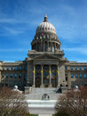 Idaho state capitol the building is a historic landmark in boise Stock Images