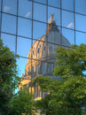 Idaho State Capitol Reflection Royalty Free Stock Photo