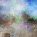 Idea background of multicolored vivid bubbles shadows