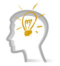 Idea bulb Royalty Free Stock Images