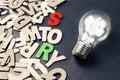 Idea and Story Royalty Free Stock Photo