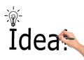 Idea symbol Royalty Free Stock Images