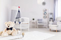 Ideal room for little sailor boy Royalty Free Stock Photo