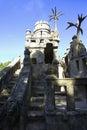 Ideal slott Arkivfoton