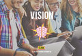 Ideas Brainstorming Vision Innovation Think Big Concept Royalty Free Stock Photo