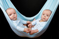 Identical twin boys Stock Photography