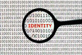 Identity theft online Royalty Free Stock Photo