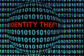 Identity Theft in Red Royalty Free Stock Photo