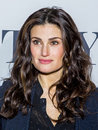 Idina menzel actress and singer who is appearing in the musical if then arrives at the tony awards meet the nominees press junket Stock Photos