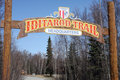 The Iditarod Trail Sled Dog Race Stock Photography