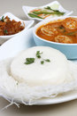 Idli - Steamed rice cakes from South India