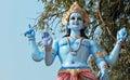 Idol of Hindu God Vishnu