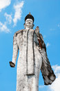 Idol statue at Nong Kha,i Thailand,Laos Stock Photos