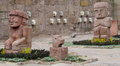 Idol Statues From Tiwanaku