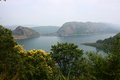 Idukki Dam at Kerala - Asia's Largest Arch Dam Stock Photo