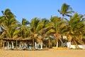 Idyllic Beach near Acapulco, Mexico Royalty Free Stock Photo