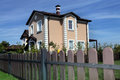 Idyllic house in America