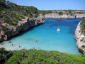 Idyllic Mediterranean cove Stock Photography