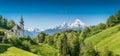 En Alpes país Baviera
