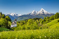 Idyllic Mountain Landscape In ...