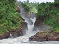 Idyllic Murchison Falls Stock Photo