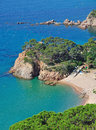Idyllic Place at the costa brava,Spain Stock Images