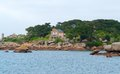 Idyllic scenery around Perros-Guirec Royalty Free Stock Images