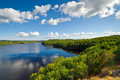 Idyllic Swedish lake Royalty Free Stock Photography