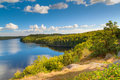 Idyllic Swedish lake Stock Photos